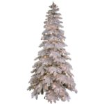 Artificial Christmas Tree-Premium Snowfall Pine